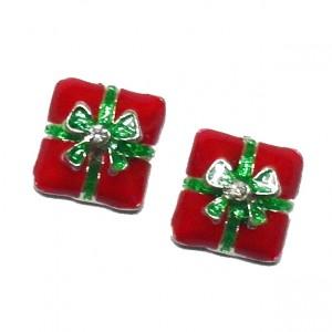 กล่องของขวัญแดงโลหะ 5 ชิ้น