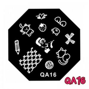 แผ่นเพสแปดเหลี่ยมQA16