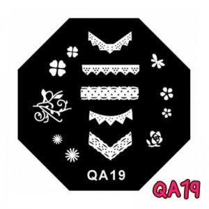 แผ่นเพสแปดเหลี่ยมQA19
