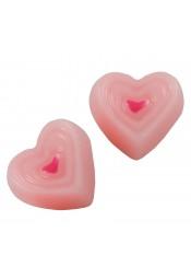 ช็อกโกแลตหัวใจชมพู 5 ชิ้น
