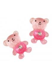 หมีชมพู 5 ชิ้น