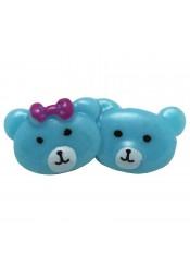 หมีคู่สีฟ้า