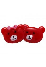 หมีคู่สีแดง