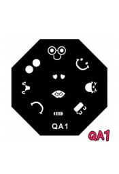 แผ่นเพสแปดเหลี่ยมQA1