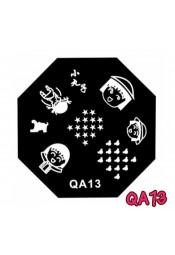 แผ่นเพสแปดเหลี่ยมQA13