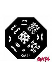 แผ่นเพสแปดเหลี่ยมQA14