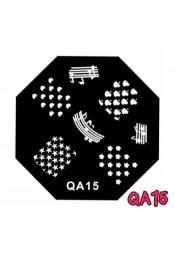 แผ่นเพสแปดเหลี่ยมQA15