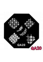 แผ่นเพสแปดเหลี่ยมQA20