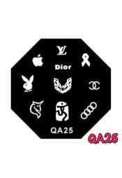 แผ่นเพสแปดเหลี่ยมQA25