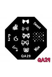 แผ่นเพสแปดเหลี่ยมQA29