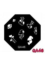 แผ่นเพสแปดเหลี่ยมQA46