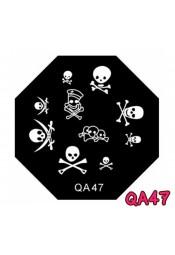 แผ่นเพสแปดเหลี่ยมQA47