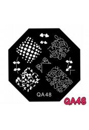 แผ่นเพสแปดเหลี่ยมQA48