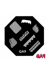 แผ่นเพสแปดเหลี่ยมQA9