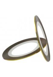 สติ๊กเกอร์เส้นสีทองรุ้ง
