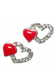 หัวใจเพชรแดง 5 ชิ้น