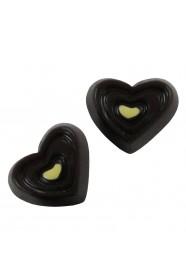 ช็อกโกแลตหัวใจน้ำตาล 5 ชิ้น