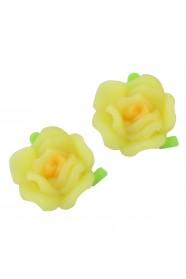 ดอกกุหลาบไล่สีเหลือง(เลือกขนาดด้านใน)