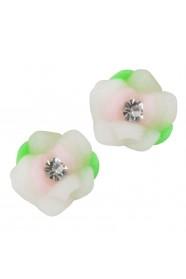 ดอกไม้ขาว 8 ชิ้น