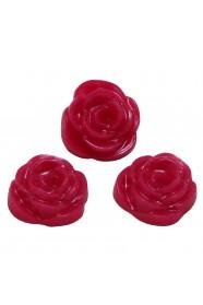 ดอกกุหลาบมุกบานเย็น 3 ชิ้น