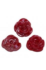 ดอกกุหลาบมุกแดง 3 ชิ้น