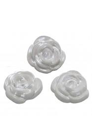 ดอกกุหลาบมุกขาว 3 ชิ้น