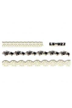 สติ๊กเกอร์ลายลูกไม้ LS-027