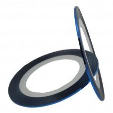สติ๊กเกอร์เส้นสีฟ้า
