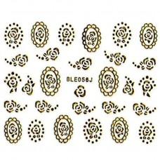 สติ๊กเกอร์ทอง 3D BLE056J