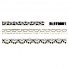 สติ๊กเกอร์ลายลูกไม้ BLET0001
