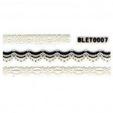 สติ๊กเกอร์ลายลูกไม้ BLET0007