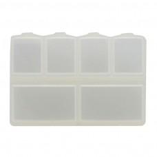 กล่องพลาสติกเล็ก 6 ช่อง