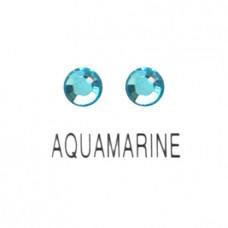 คริสตัลน้ำสวา สีAquanarine