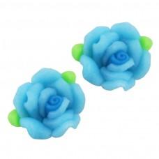 ดอกกุหลาบไล่สีฟ้า(เลือกขนาดด้านใน)