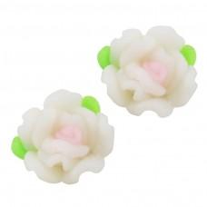 ดอกกุหลาบไล่สีขาว 8 ชิ้น