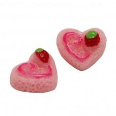 เค้กหัวใจสีชมพู