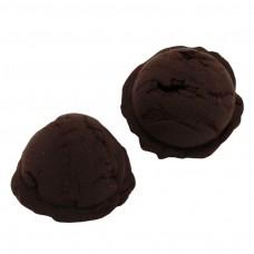 ไอศครีมสกูปช็อกโกแลต 2 ชิ้น