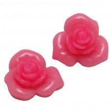 ดอกไม้สีชมพูอ่อน