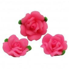 ดอกกุหลาบสีชมพูเล็ก 5 ดอก