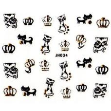 สติ๊กเกอร์ 3D JH034
