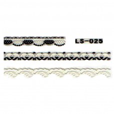 สติ๊กเกอร์ลายลูกไม้ LS-025