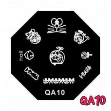 แผ่นเพสแปดเหลี่ยมQA10