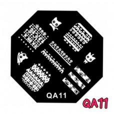 แผ่นเพสแปดเหลี่ยมQA11