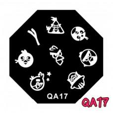 แผ่นเพสแปดเหลี่ยมQA17