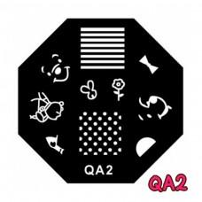 แผ่นเพสแปดเหลี่ยมQA2