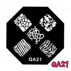 แผ่นเพสแปดเหลี่ยมQA21