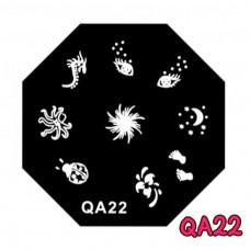 แผ่นเพสแปดเหลี่ยมQA22