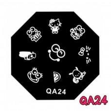 แผ่นเพสแปดเหลี่ยมQA24