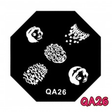 แผ่นเพสแปดเหลี่ยมQA26