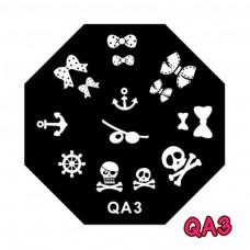 แผ่นเพสแปดเหลี่ยมQA3